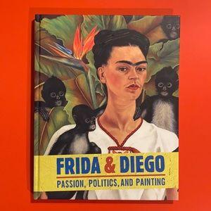Frida Kahlo & Diego Rivera art coffee table book